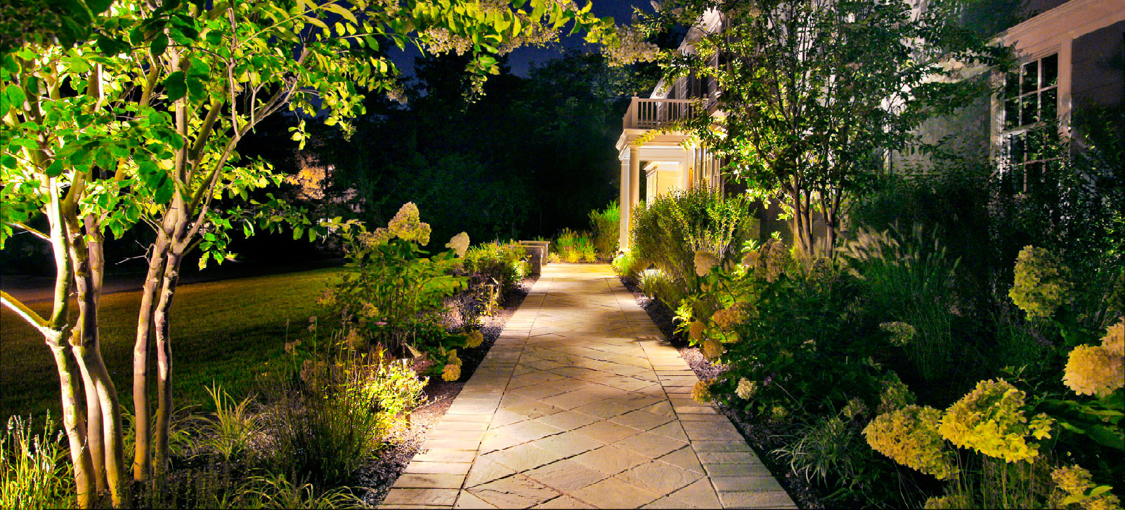 lighting outdoors paulk decor and outdoor landscape by lights nitetime