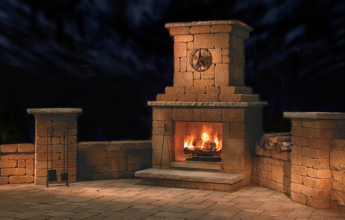 Outdoor Fireplaces Area Landscape Supply