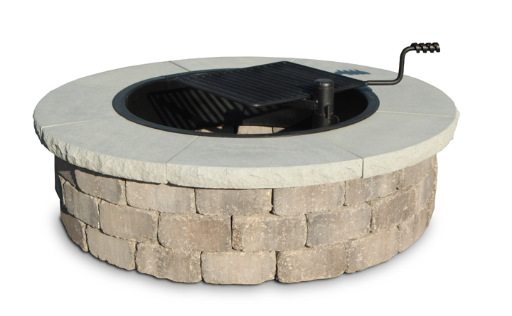 Modular fire pits area landscape supply for Prefab fire pit