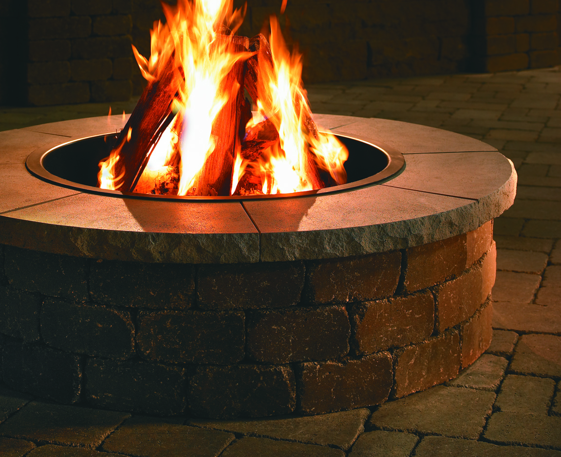 Modular fire pits area landscape supply for Prefab fire pits